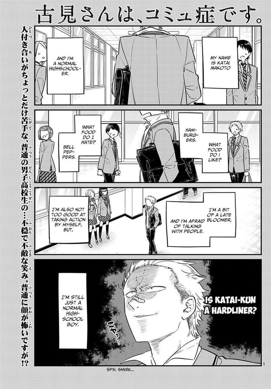 Komi-san wa Komyushou Desu 76 Page 1