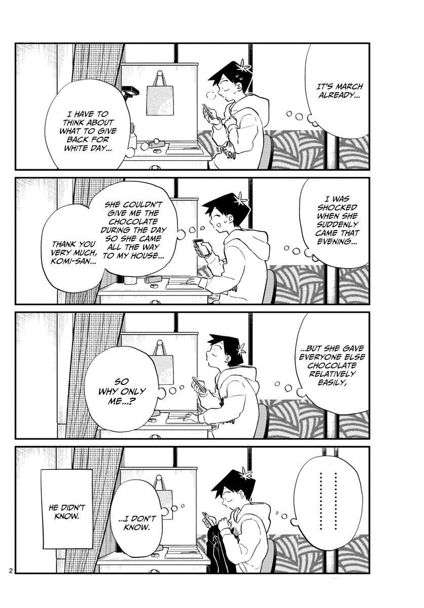 Komi-san wa Komyushou Desu 126 Page 2