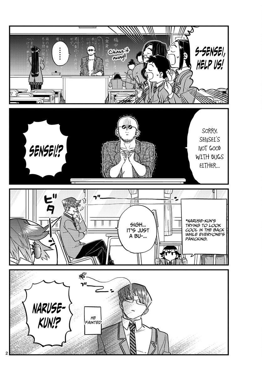 Komi-san wa Komyushou Desu 141 Page 2