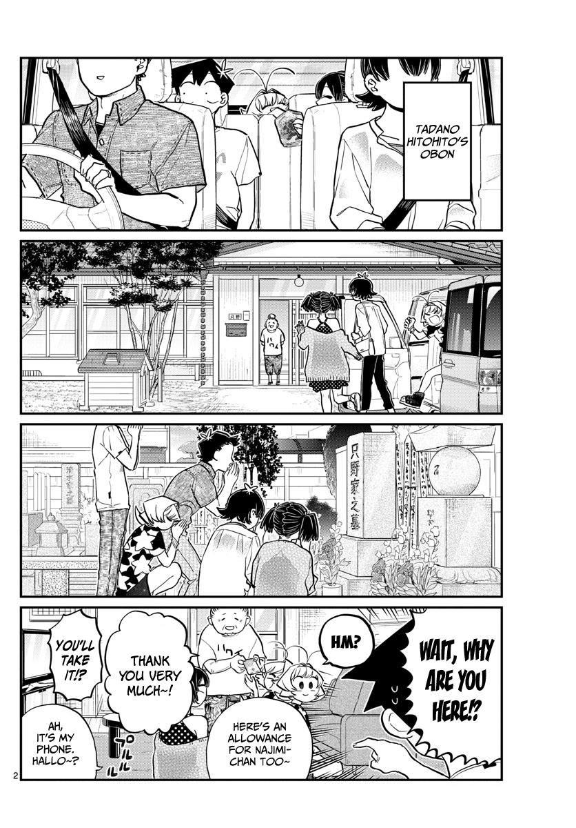 Komi-san wa Komyushou Desu 186 Page 2