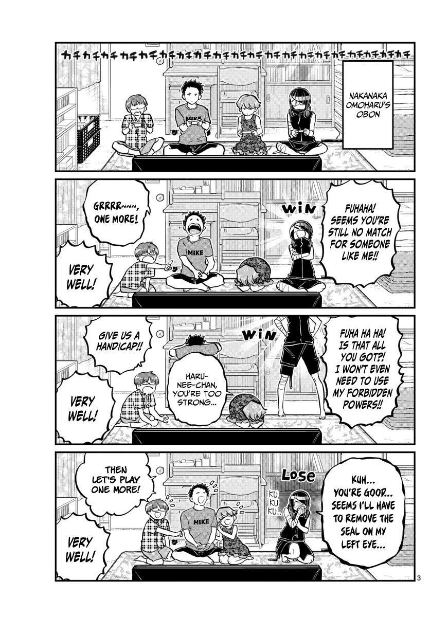 Komi-san wa Komyushou Desu 186 Page 3