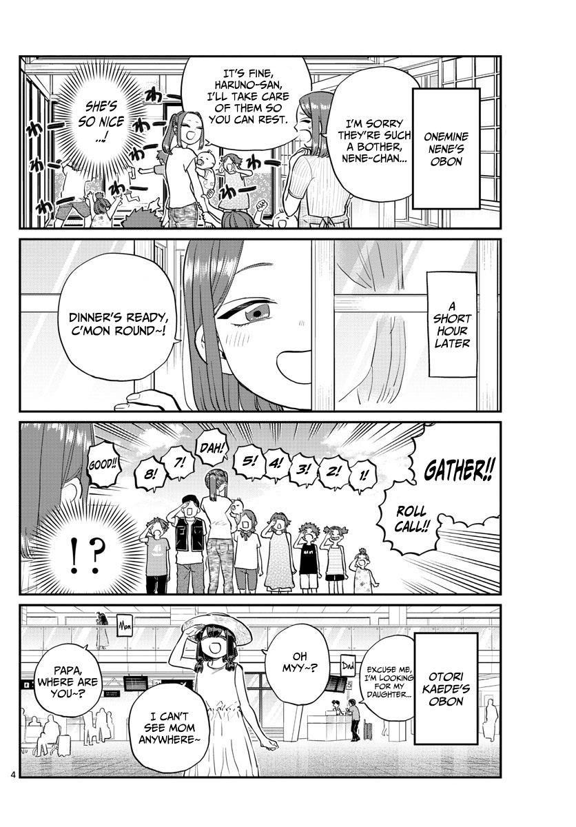 Komi-san wa Komyushou Desu 186 Page 4