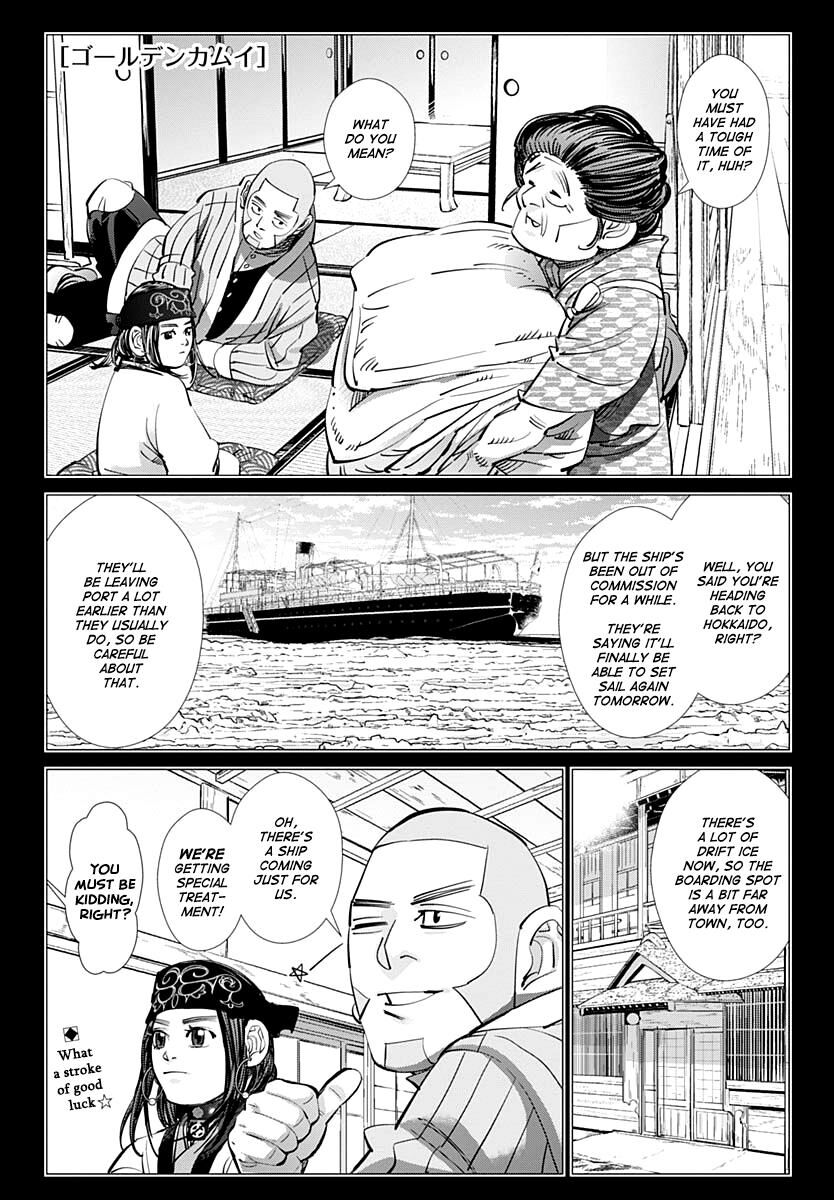 Golden Kamui 213 Page 1