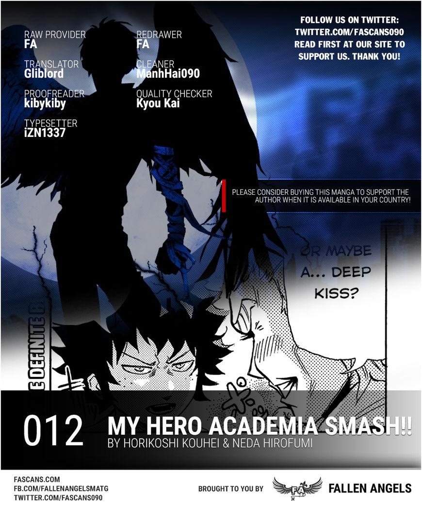 Boku no Hero Academia Smash!! 12 Page 1