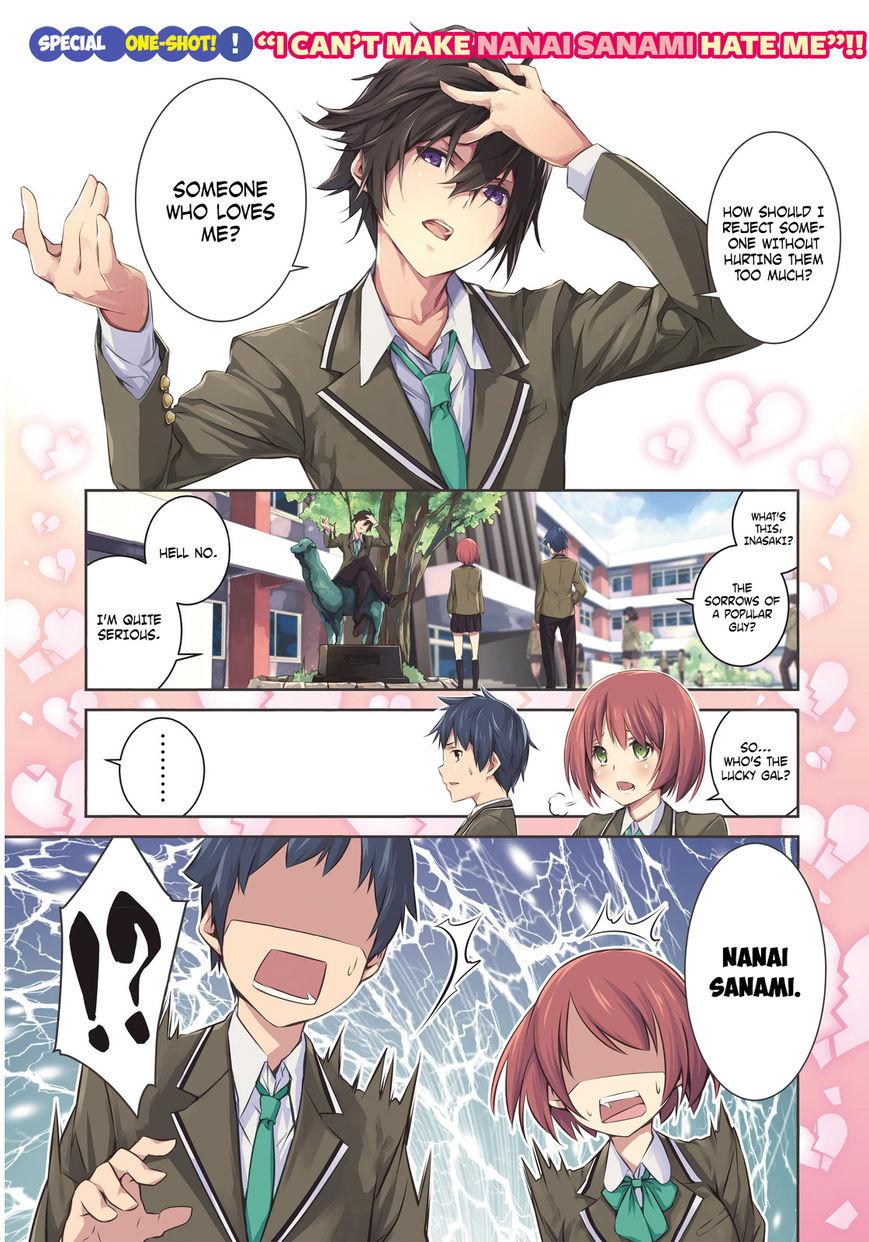 Nanai Sanami ga Kiratte Kurenai 0 Page 1