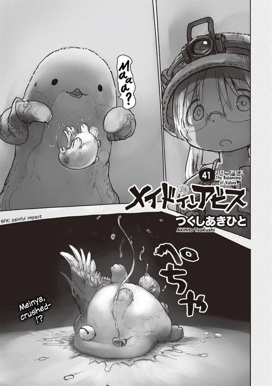 Made in Abyss 41 Page 1