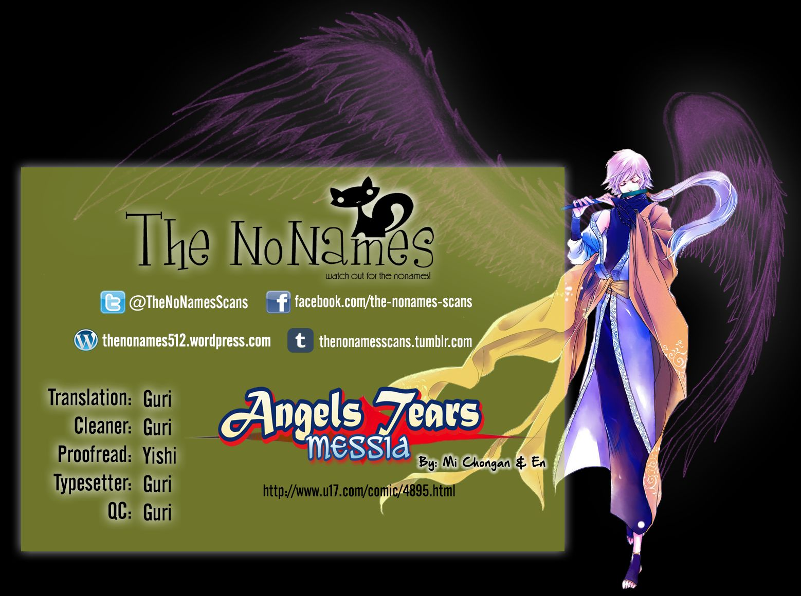 Angels Tears 24 Page 1