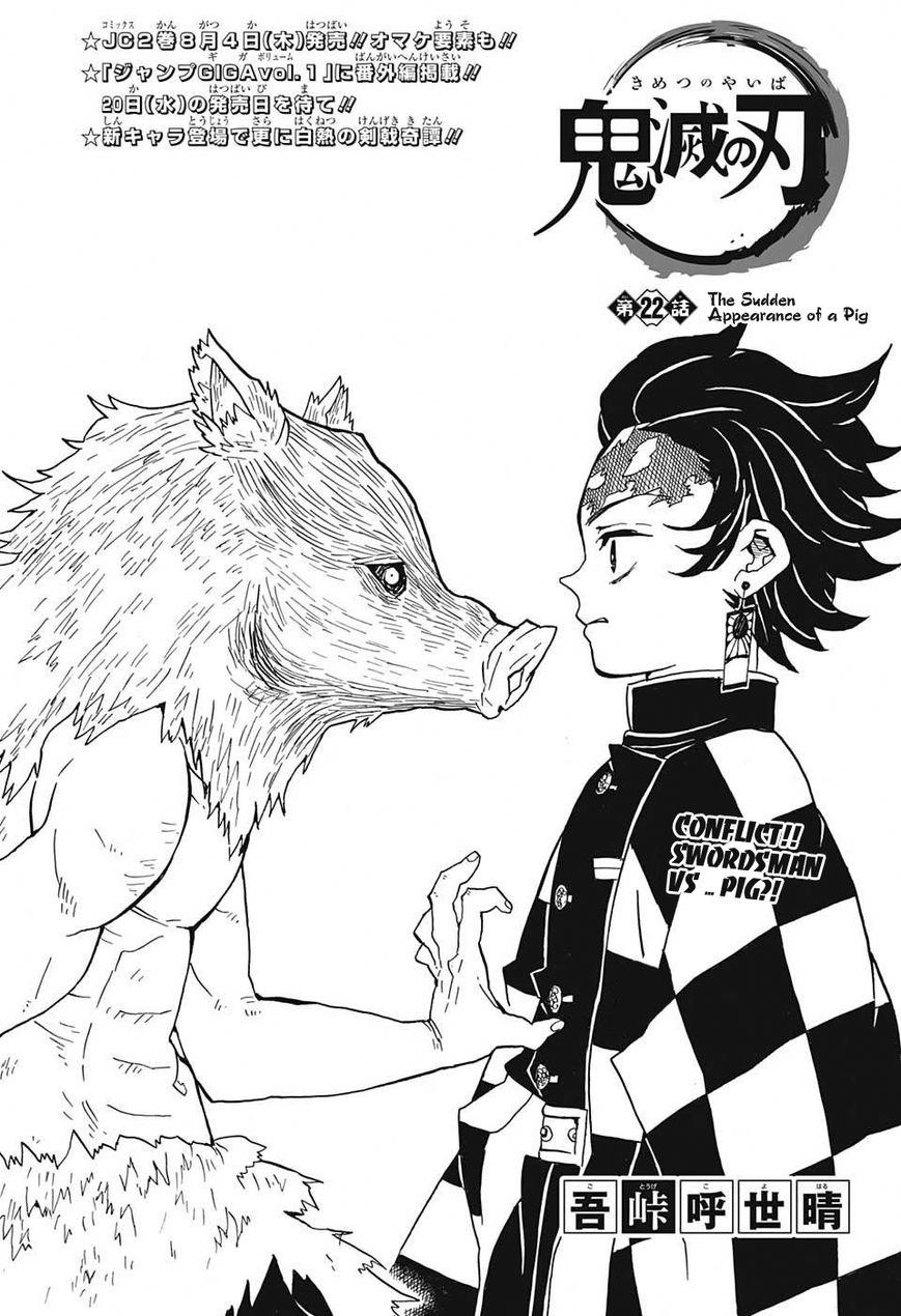 Kimetsu no Yaiba 22 Page 1
