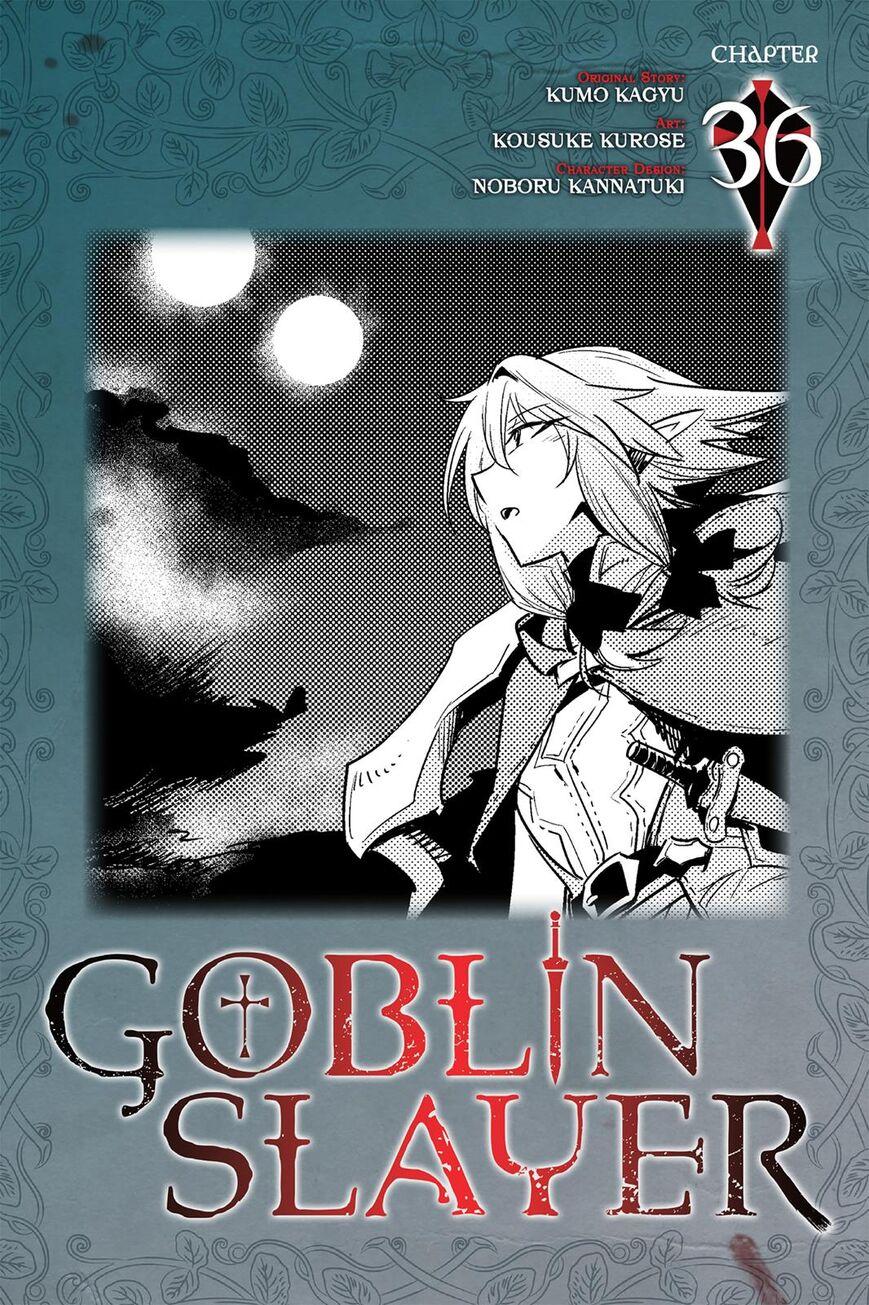 Goblin Slayer 36 Page 1