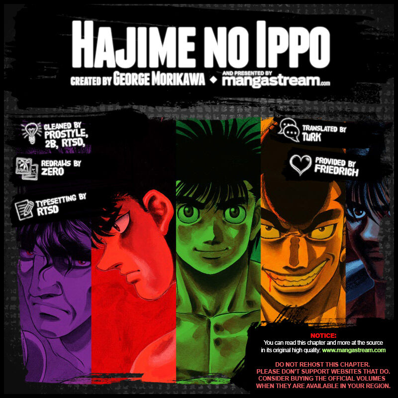 Hajime no Ippo 1262 Page 2