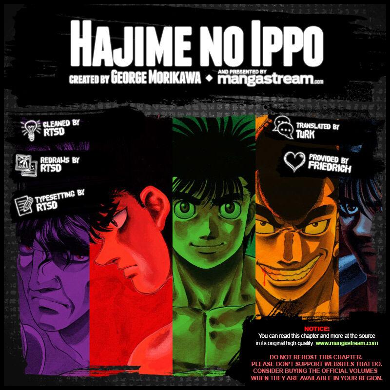 Hajime no Ippo 1277 Page 2