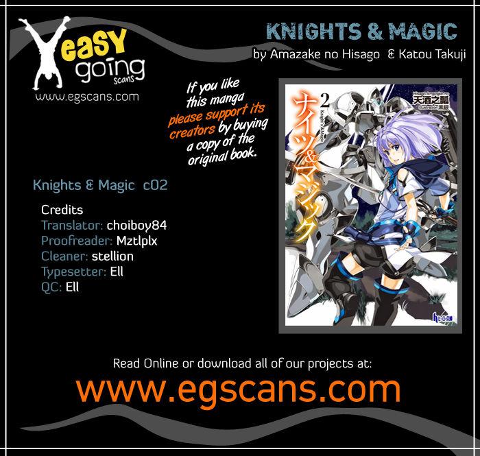 Knights & Magic 2 Page 1