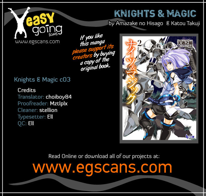 Knights & Magic 3 Page 1