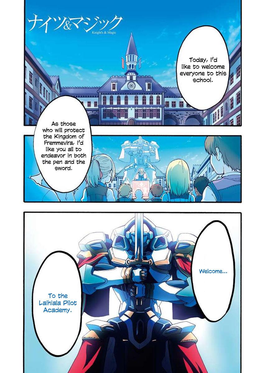 Knights & Magic 3 Page 2