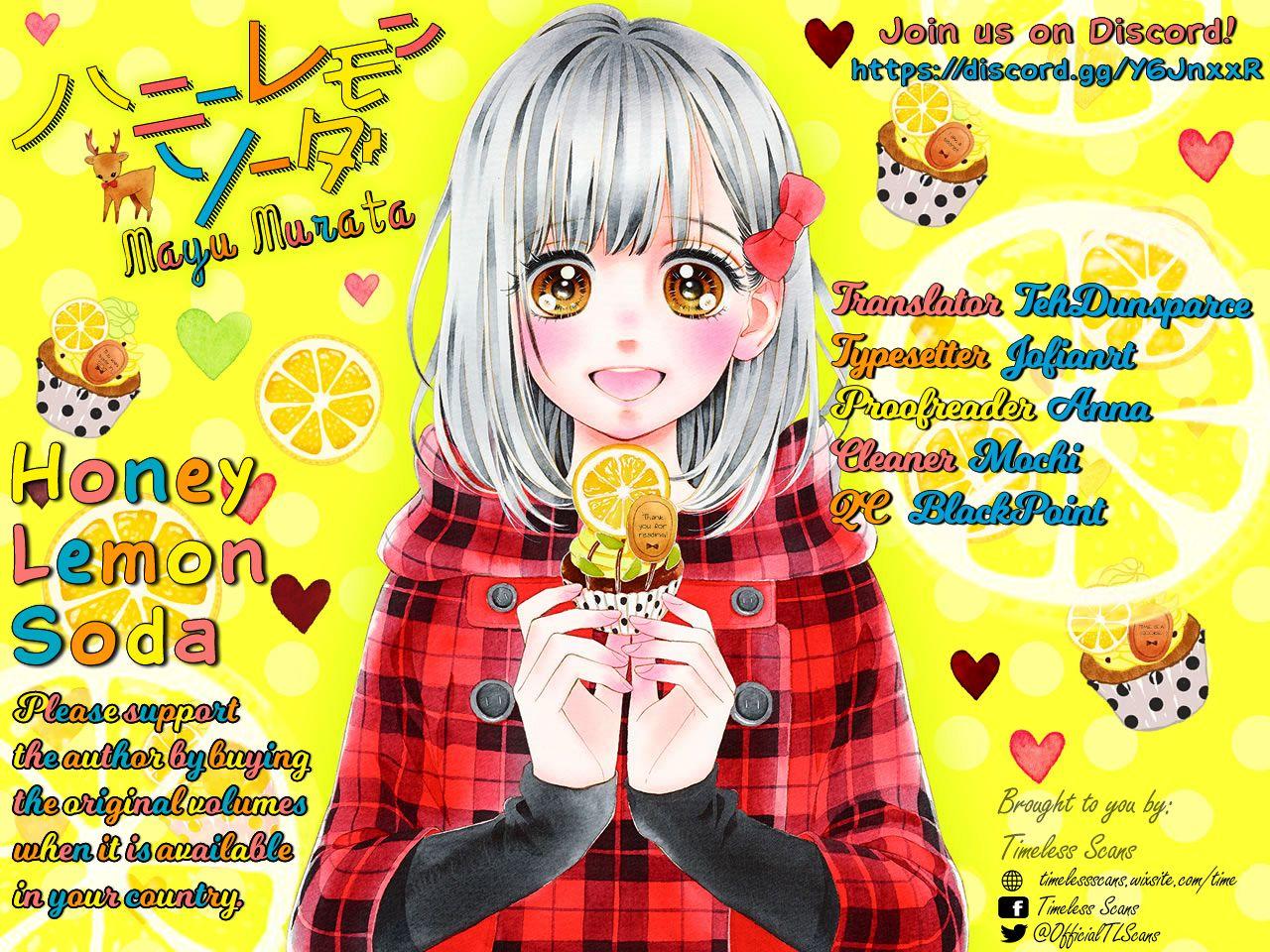Honey Lemon Soda 18 Page 1