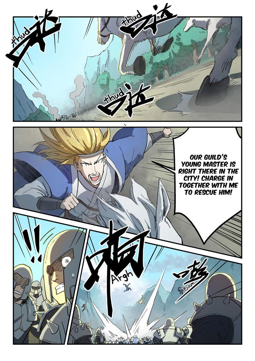 Star Martial God Technique 278 Page 1