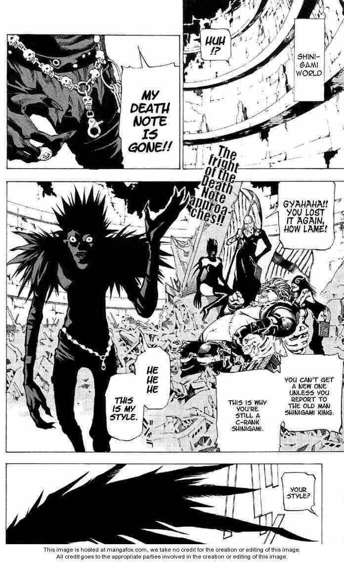 Death Note 1 Page 1