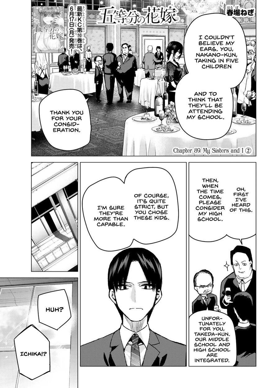 Go-Toubun no Hanayome 89 Page 1