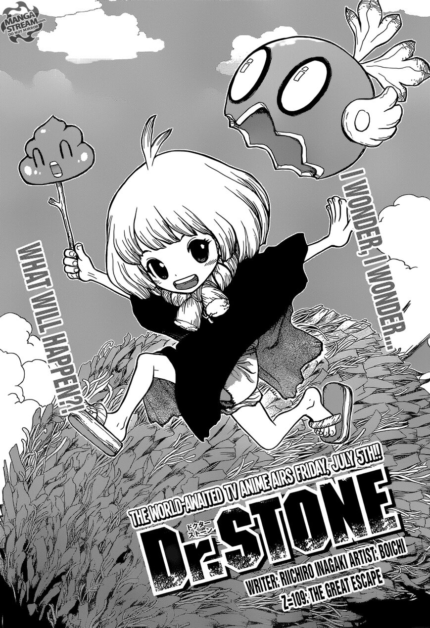 Dr. Stone 109 Page 1