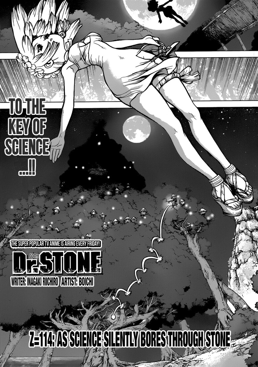 Dr. Stone 114 Page 1