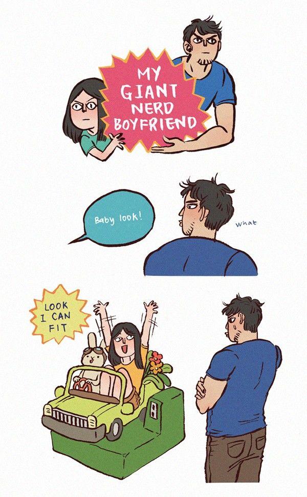 My Giant Nerd Boyfriend 9 Page 1