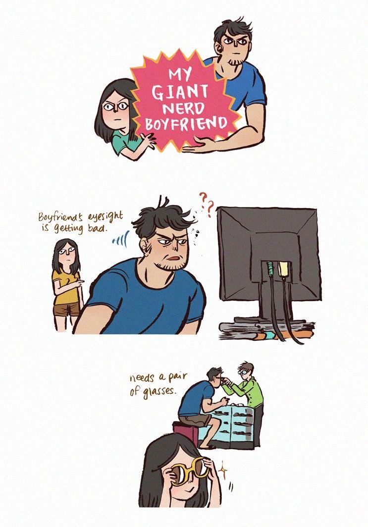 My Giant Nerd Boyfriend 12 Page 1