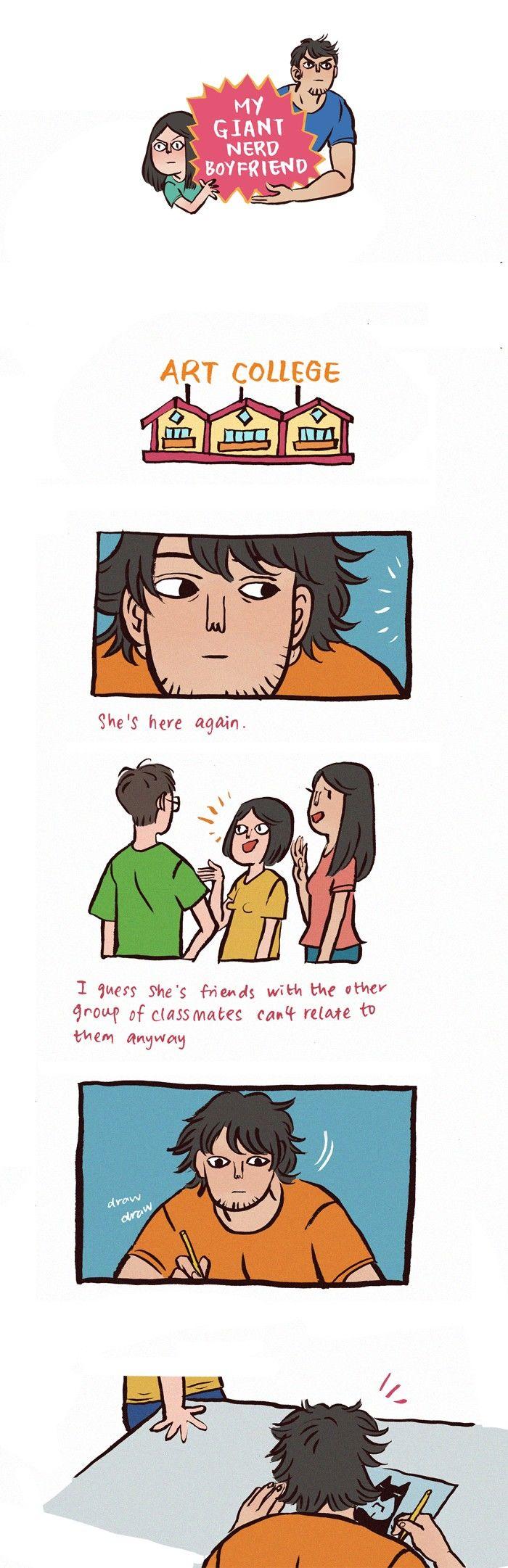 My Giant Nerd Boyfriend 24 Page 1