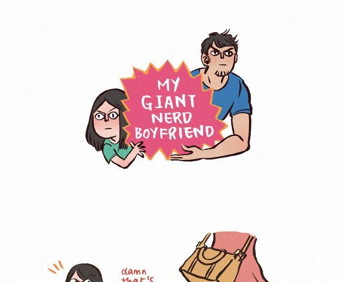 My Giant Nerd Boyfriend 26 Page 1