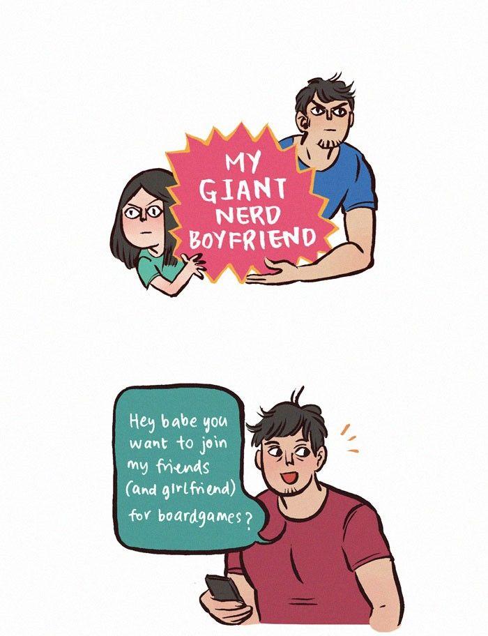 My Giant Nerd Boyfriend 39 Page 1