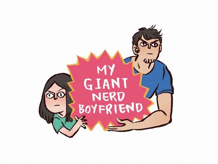 My Giant Nerd Boyfriend 54 Page 1