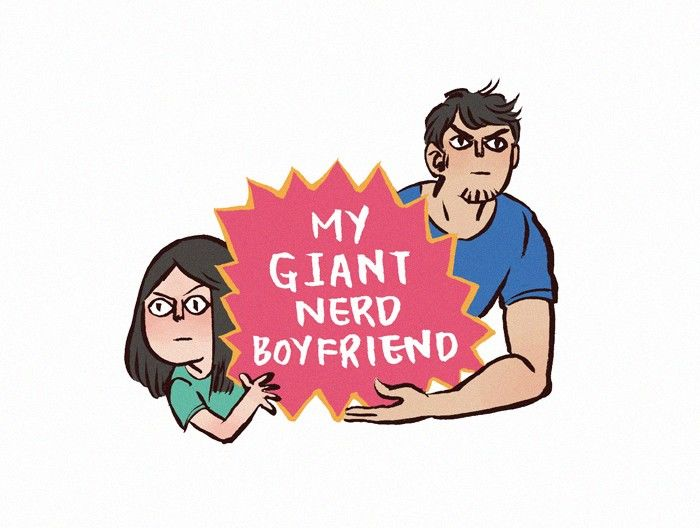 My Giant Nerd Boyfriend 67 Page 1