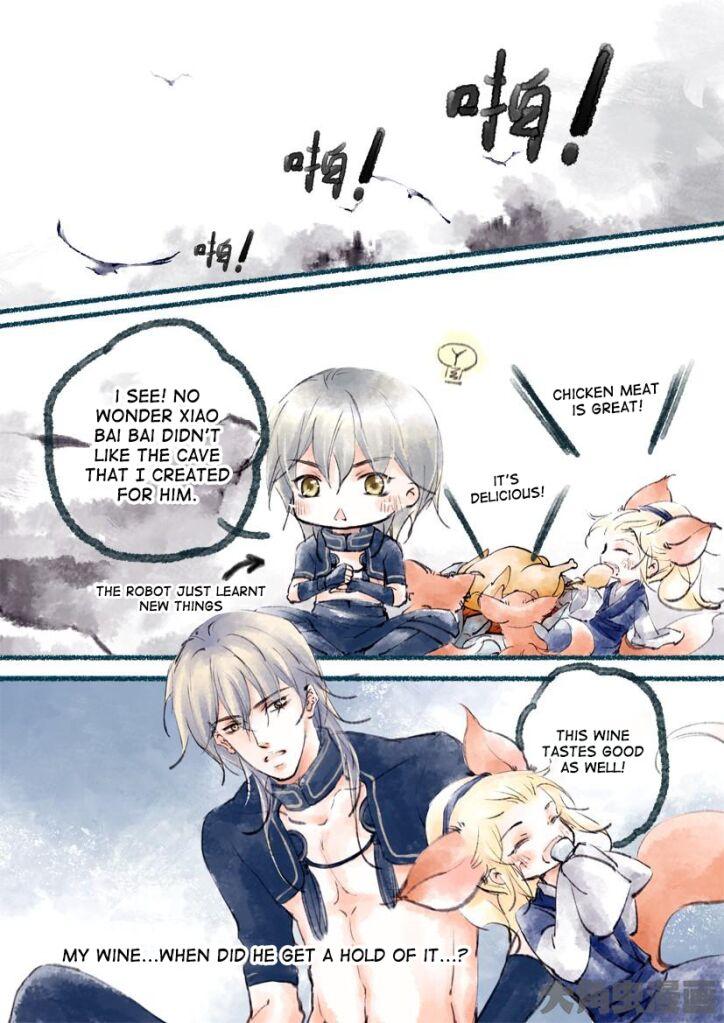Bai Jiu Nan Chan 8 Page 1