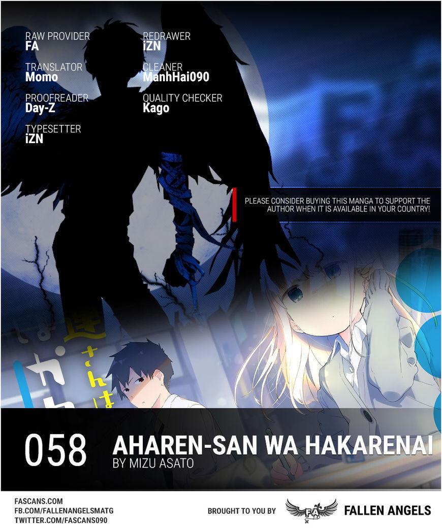 Aharen-san wa Hakarenai 58 Page 1