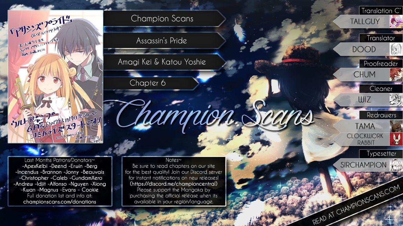 Assassin's Pride 6 Page 1