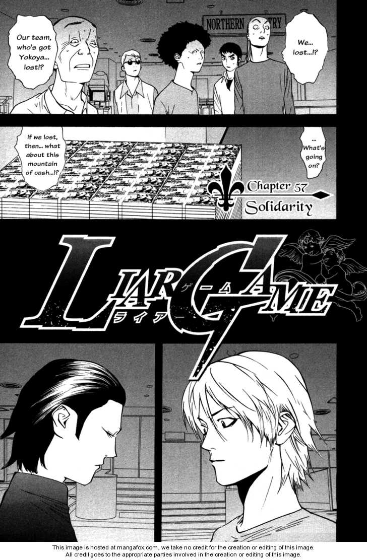 Liar Game 57 Page 1