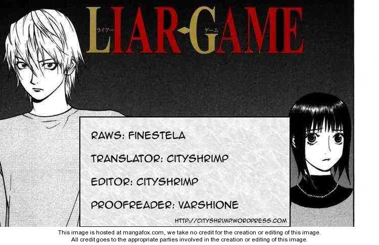 Liar Game 93 Page 1
