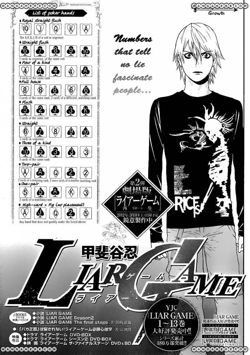 Liar Game 142 Page 1
