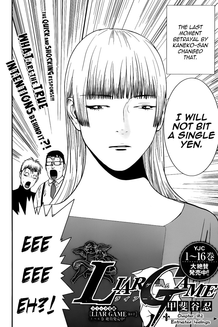 Liar Game 182 Page 2
