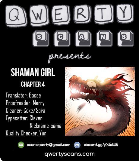 Shaman Girl 4 Page 1