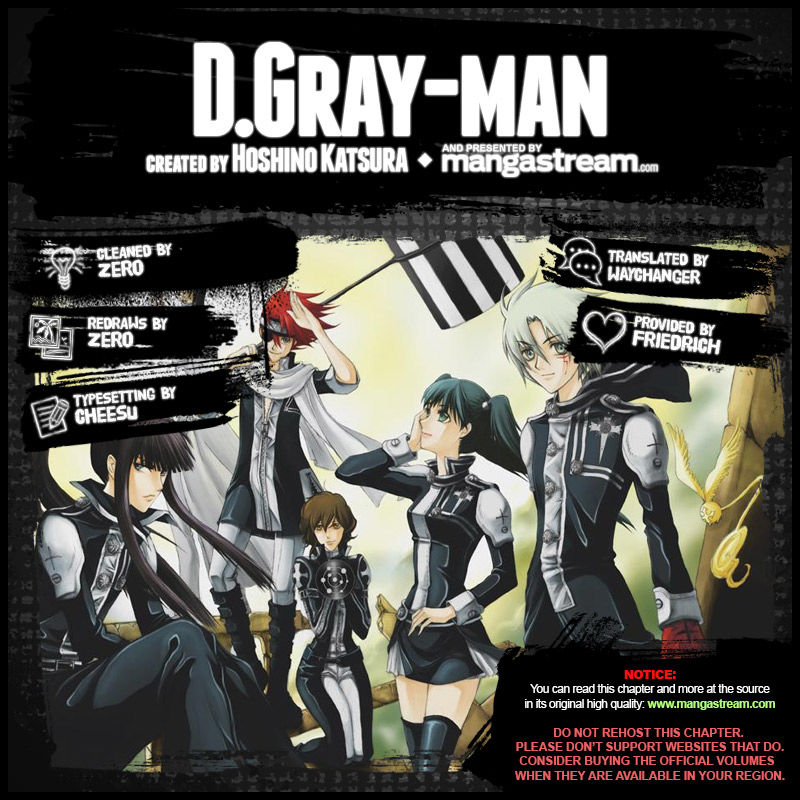 D.Gray-man 232 Page 2