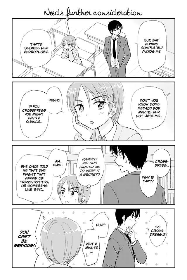Otome Danshi ni Koisuru Otome 25 Page 1