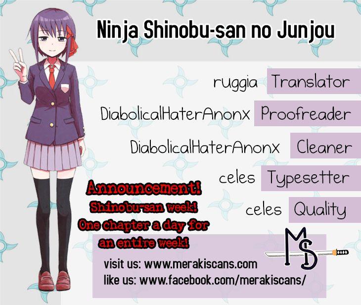 Ninja Shinobu-chan no Junjou 9 Page 1