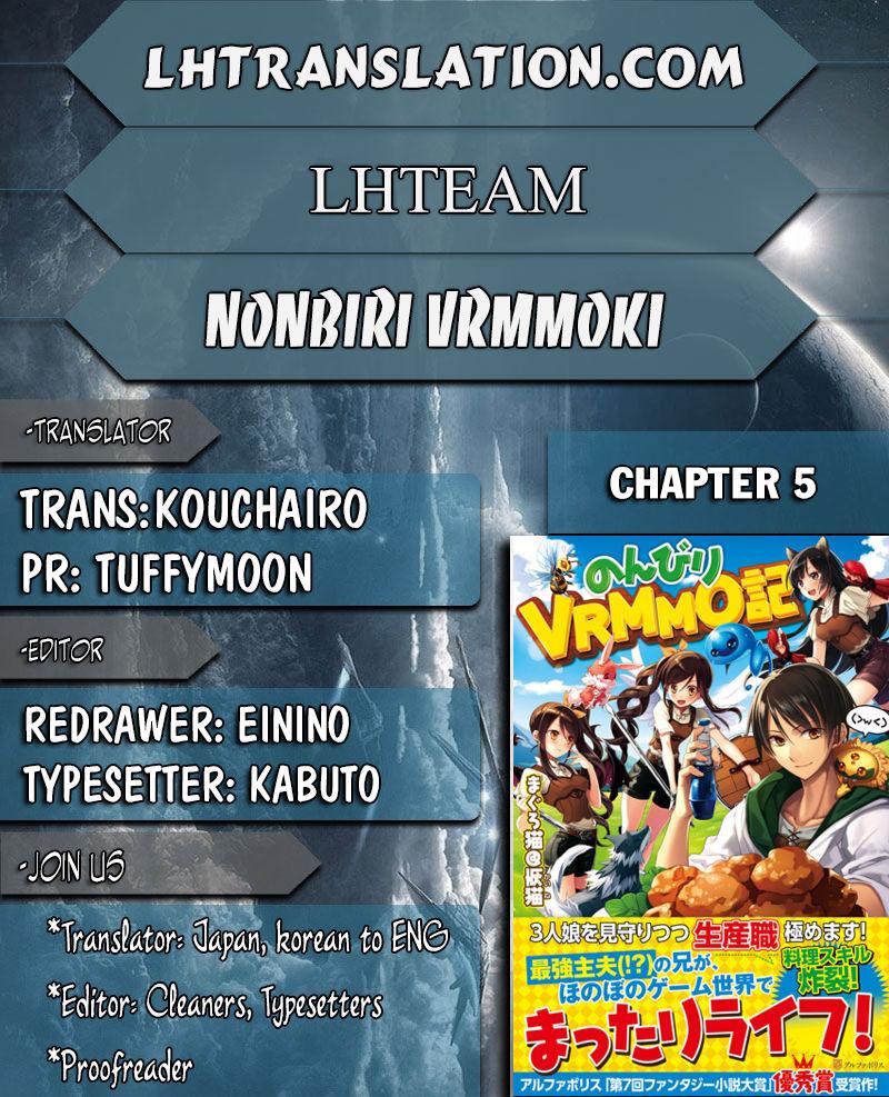 Nonbiri VRMMOki 5 Page 1