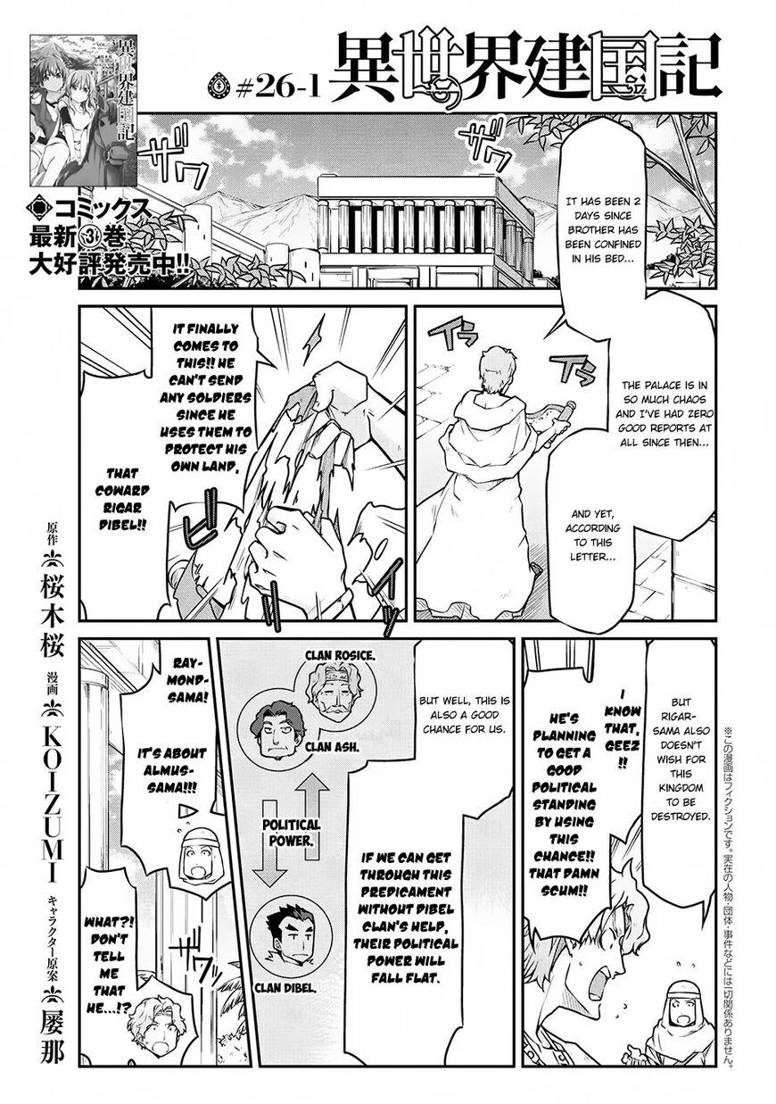 Isekai Kenkokuki 26.1 Page 1