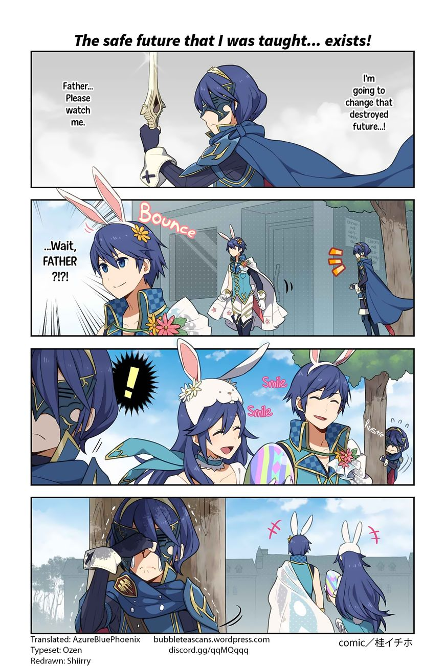 Fire Emblem Heroes Daily Lives of the Heroes 8 Page 1