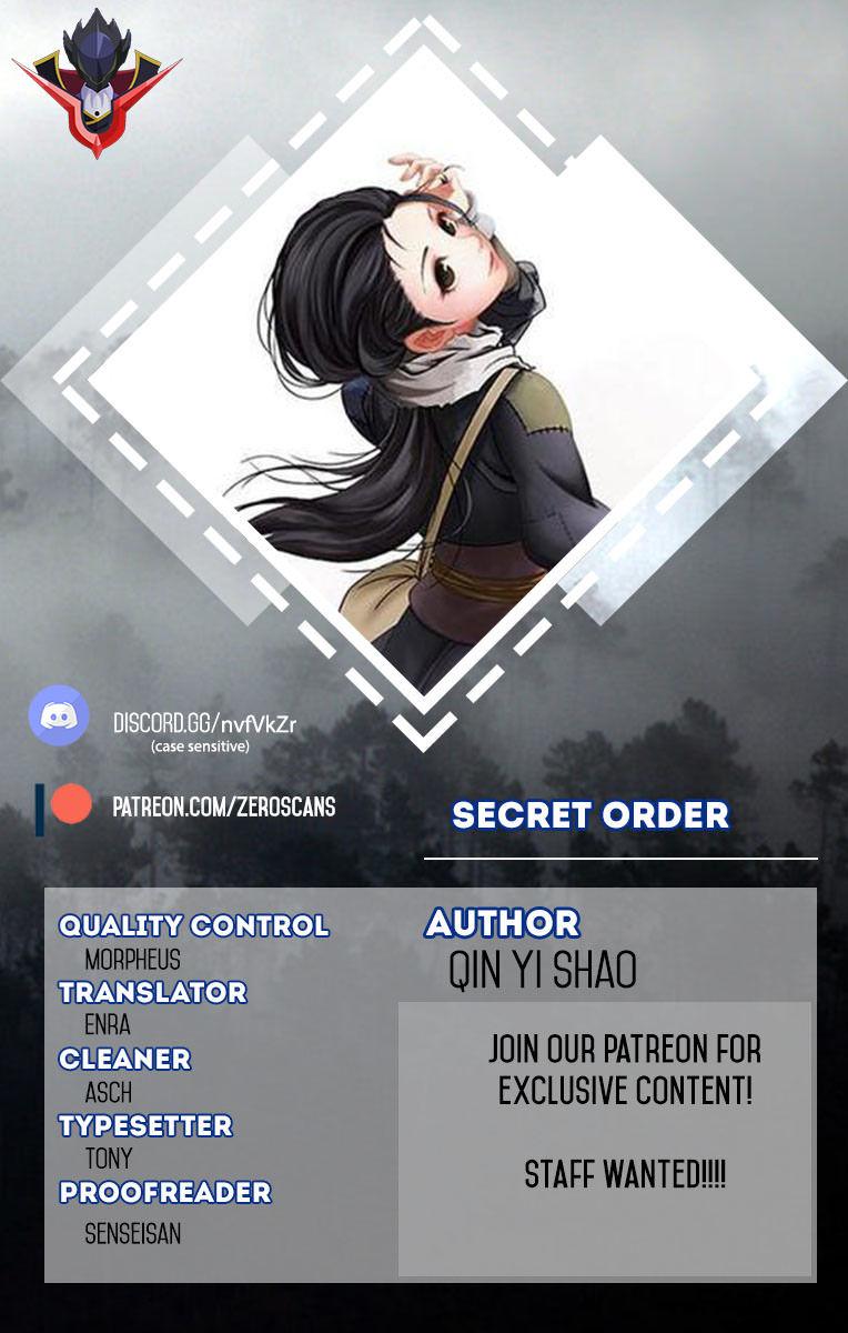 Secret Order 13 Page 1