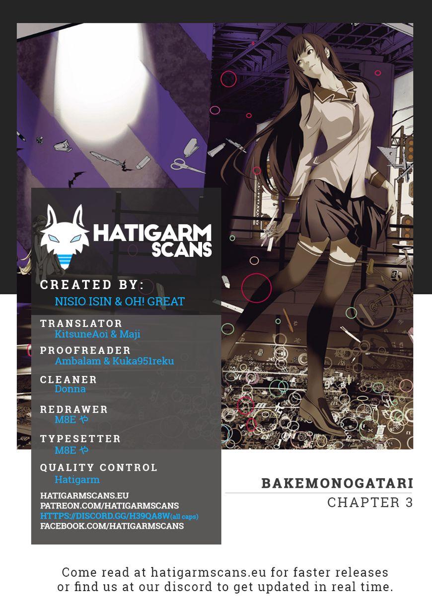 Bakemonogatari 3 Page 1