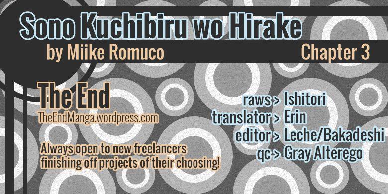 Sono Kuchibiru wo Hirake 3 Page 1