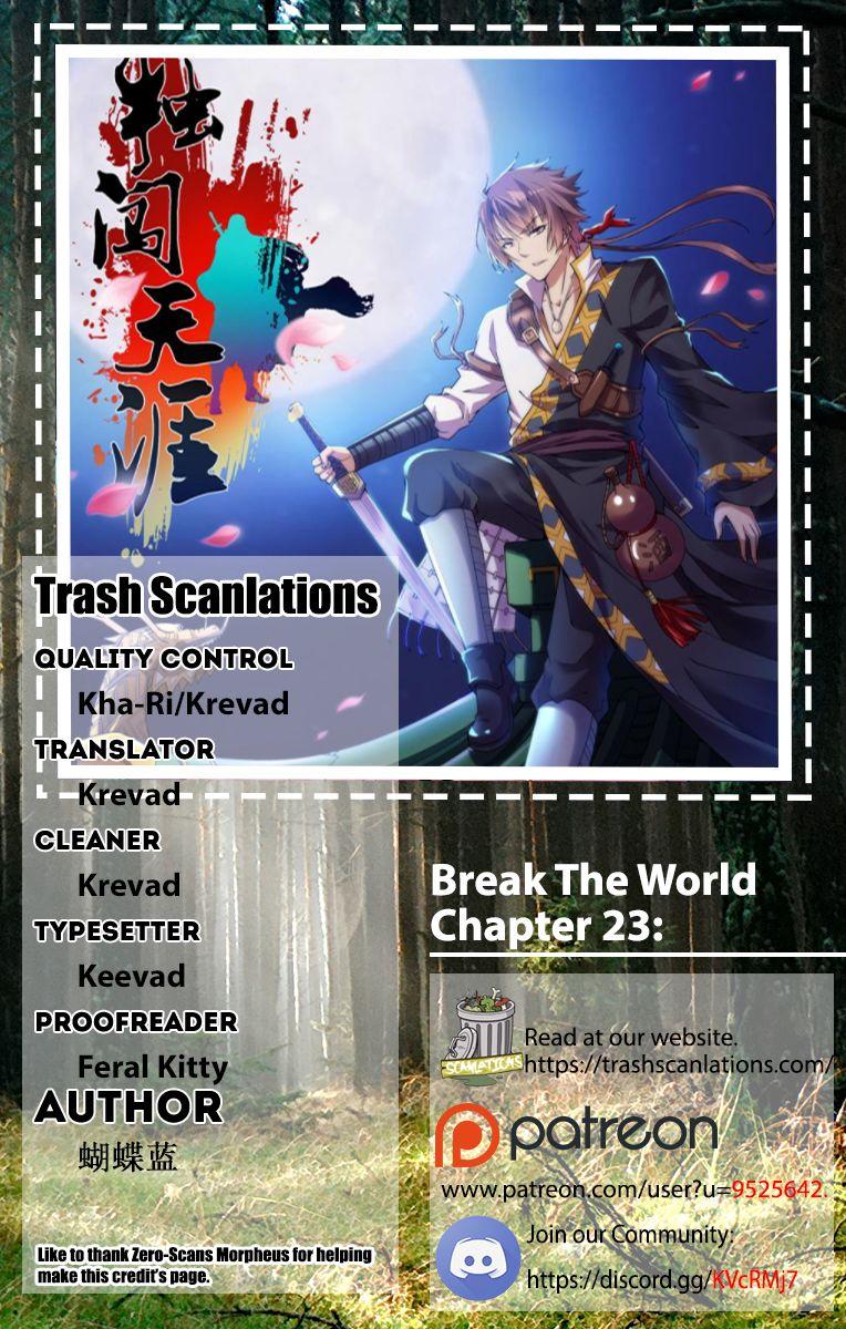 Break The World 23 Page 1