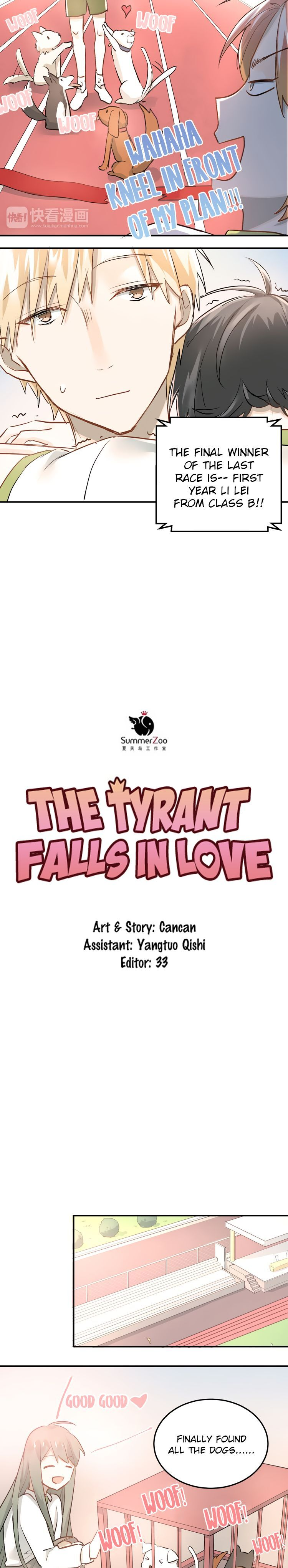 The Tyrant Falls in Love (Can Can) 13 Page 5
